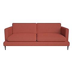 J by Jasper Conran - 3 seater flat weave fabric 'Ellsworth' sofa