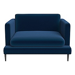 J by Jasper Conran - Velvet 'Ellsworth' loveseat