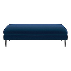 J by Jasper Conran - Velvet 'Ellsworth' footstool