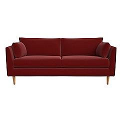 RJR.John Rocha - 3 seater velvet 'Ravello' sofa