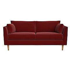 RJR.John Rocha - 2 seater velvet 'Ravello' sofa