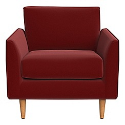 RJR.John Rocha - Velvet 'Ravello' armchair
