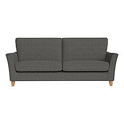 Debenhams - 4 seater tweedy weave 'Abbeville' sofa