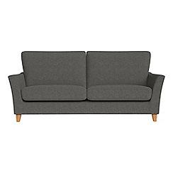 Debenhams - 3 seater tweedy weave 'Abbeville' sofa