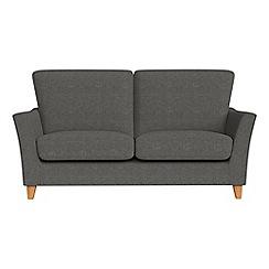 Debenhams - Small 2 seater tweedy weave 'Abbeville' sofa