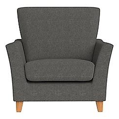Debenhams - Tweedy weave 'Abbeville' armchair