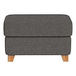 Debenhams - Tweedy weave 'Abbeville' footstool