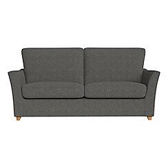 Debenhams - 2 seater tweedy weave 'Abbeville' sofa bed