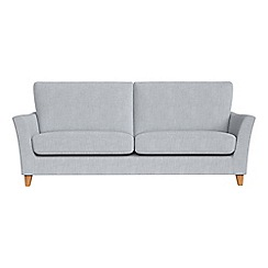 Debenhams - 4 seater brushed cotton 'Abbeville' sofa