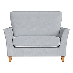 Debenhams - Brushed cotton 'Abbeville' loveseat