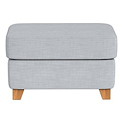 Debenhams - Brushed cotton 'Abbeville' footstool
