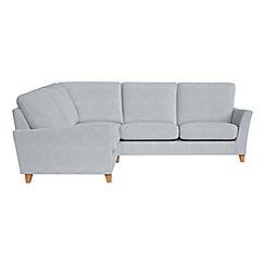 Debenhams - Brushed cotton 'Abbeville' left-hand facing corner sofa end