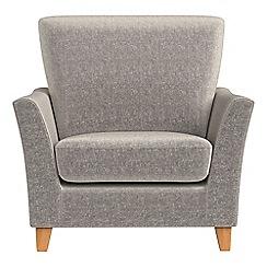 Debenhams - Chenille 'Abbeville' armchair