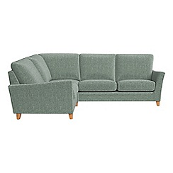 Debenhams - Chenille 'Abbeville' left-hand facing corner sofa end