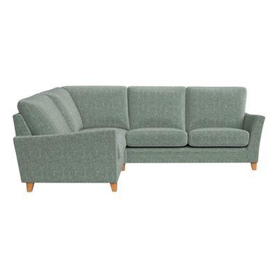 Chenille Abbeville Left Hand Facing Corner Sofa End