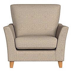 Debenhams - Textured weave 'Abbeville' armchair