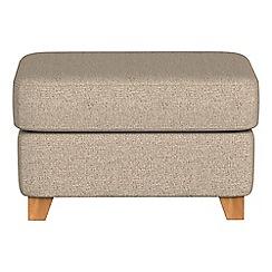 Debenhams - Textured weave 'Abbeville' footstool