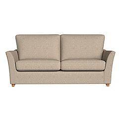 Debenhams - 2 seater textured weave 'Abbeville' sofa bed