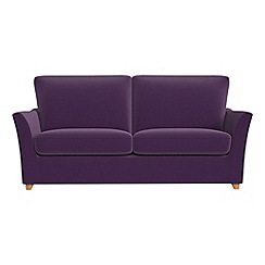 Debenhams - 2 seater velvet 'Abbeville' sofa bed