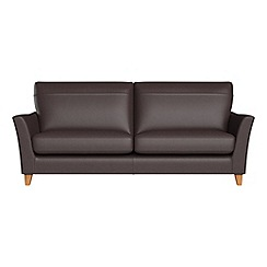 Debenhams - 4 seater luxury leather 'Abbeville' sofa