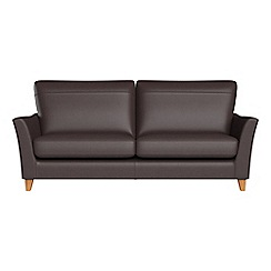 Debenhams - 3 seater luxury leather 'Abbeville' sofa