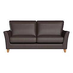 Debenhams - 2 seater luxury leather 'Abbeville' sofa