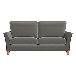 Debenhams - 2 seater natural grain leather 'Abbeville' sofa