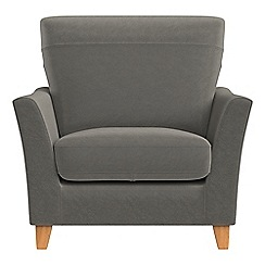Debenhams - Natural grain leather 'Abbeville' armchair