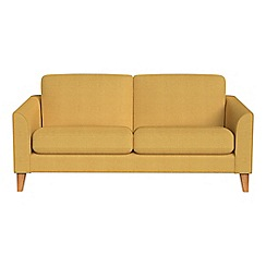 Debenhams - 2 seater tweedy weave 'Carnaby' sofa
