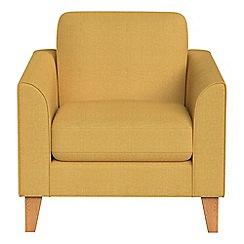 Debenhams - Tweedy weave 'Carnaby' armchair
