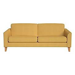 Debenhams - 3 seater tweedy weave 'Carnaby' sofa bed
