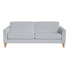 Debenhams - 3 seater brushed cotton 'Carnaby' sofa