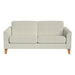 Debenhams - 2 seater brushed cotton 'Carnaby' sofa