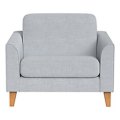 Debenhams - Brushed cotton 'Carnaby' loveseat