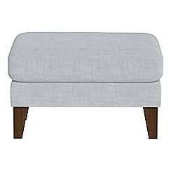 Debenhams - Brushed cotton 'Carnaby' footstool