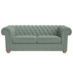 Debenhams - 3 seater chenille 'Chesterfield' sofa