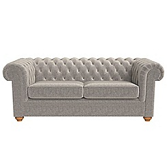 Debenhams 3 Seater Chenille Chesterfield Sofa