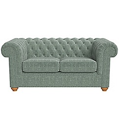 Debenhams - 2 seater chenille 'Chesterfield' sofa