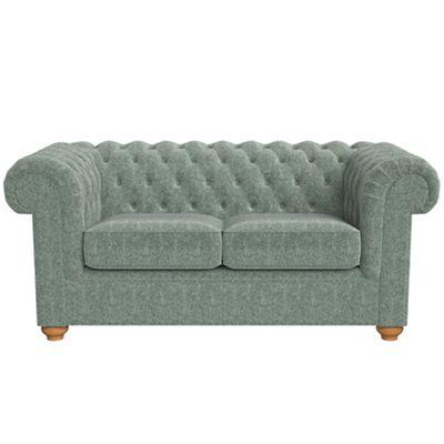 2 Seater Chenille Chesterfield Sofa