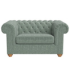 Debenhams - Chenille 'Chesterfield' loveseat