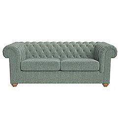 Debenhams - 3 seater chenille 'Chesterfield' sofa bed