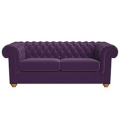 Debenhams 3 Seater Velvet Chesterfield Sofa