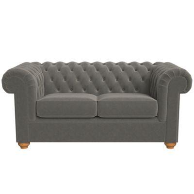 leather chesterfield chair. 2 Seater Natural Grain Leather \u0027Chesterfield\u0027 Sofa Chesterfield Chair L