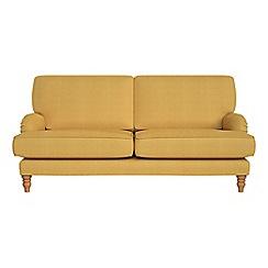 Debenhams - 3 seater tweedy weave 'Eliza' sofa