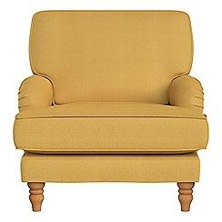 Debenhams - Tweedy weave 'Eliza' armchair