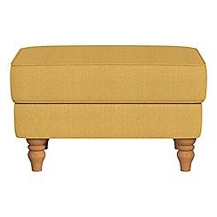 Debenhams - Tweedy weave 'Eliza' footstool