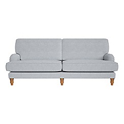 Debenhams - 4 seater brushed cotton 'Eliza' sofa