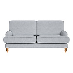Debenhams - 3 seater brushed cotton 'Eliza' sofa