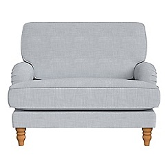 Debenhams - Brushed cotton 'Eliza' loveseat