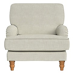 Debenhams - Brushed cotton 'Eliza' armchair